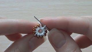 Вяжем толстый жгут столбиком. Вариант второй. Knit thick column of wiring. The second option.