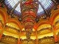 Paris: Galeries Lafayette At Christmas Time