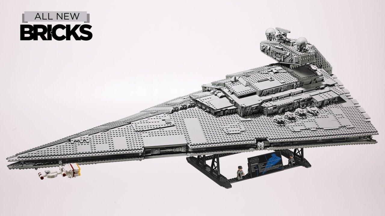 Lego Star Wars UCS 75252 Imperial Star Destroyer Speed Build