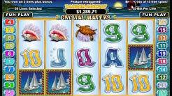 Crystal Waters Slot Machine Bonus Round