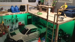 Rc Scale Garage & Loft