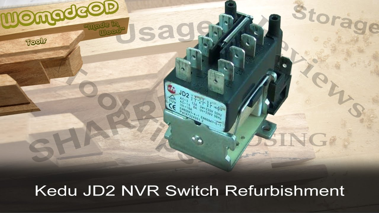 KEDU JD2 No   Volt    Release    Switch     A Quick Refurb  YouTube