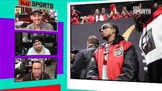 Quavo To ATL Falcons, Bench Matt Ryan And Start Me Instead! | TMZ Sports