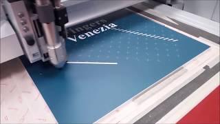 Taglio digitale su PVC Forex 10 mm - Digital cut on PVC Forex 10 mm