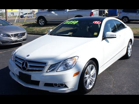 2011 mercedes benz e350 coupe walkaround start up tour. Black Bedroom Furniture Sets. Home Design Ideas