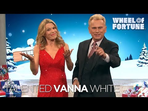 The Talented Vanna White | Wheel of Fortune