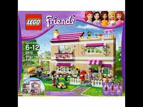 Review lego friends casa da olivia youtube - Lego friends casa de livi ...
