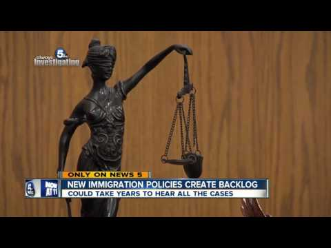 New immigration enforcement priorities adding to backlog of cases in Cleveland court