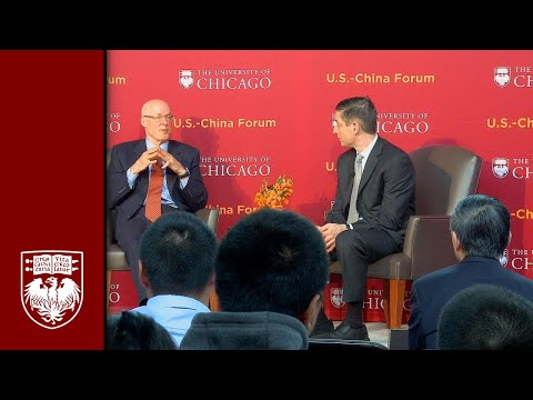U.S. - China Forum: Beyond Paris: A Conversation with Henry M. Paulson, Jr.
