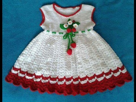 Sweater Design Knitting Two Colour Woolen Frock Design