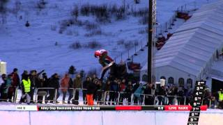 Peetu Piiroinen - Final run at the Arctic Challenge Halfpipe 2013