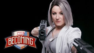 Silver Sable from Marvel's Spider-Man | Marvel Becoming