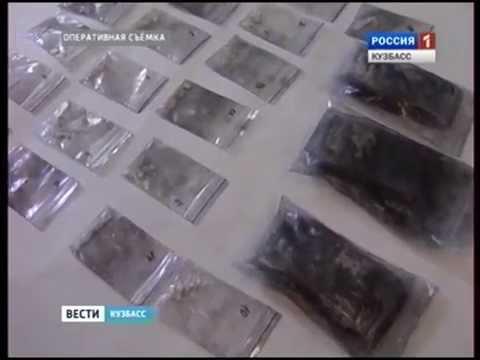 Семь участников наркобизнеса задержали в Новокузнецке