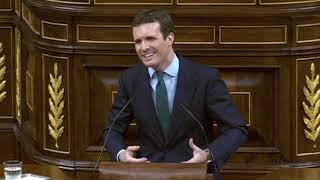 Casado contra la ministra de Hacienda por los Presupuestos - Debate
