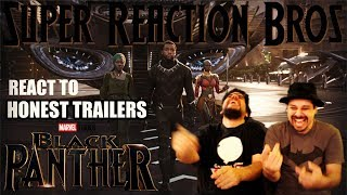 SRB Reacts to Honest Trailers - Black Panther