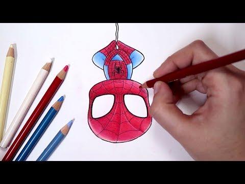 Como Desenhar O Homem Aranha Chibi Passo A Passo Youtube