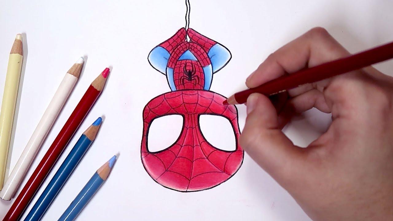 Como Desenhar O Homem Aranha Chibi Passo A Passo