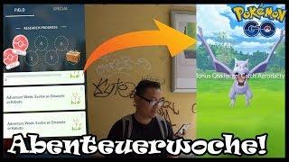 100% AERODACTYL Quest & Raid Jagd?! Abenteuerwoche Gesteinsevent! Pokemon Go!