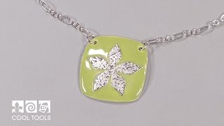 Cool Tools | Sweet and Easy Enameled Pendant by Pam East