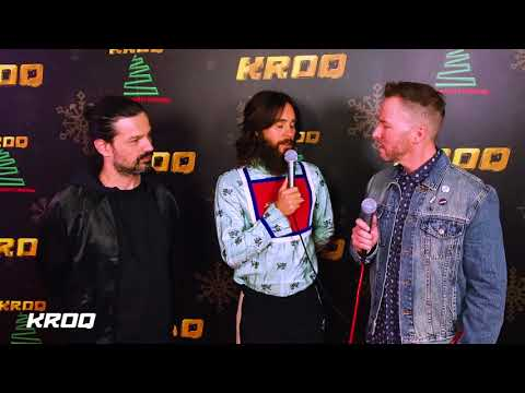 Thirty Seconds To Mars Interview - KROQ Almost Acoustic Christmas 2017