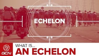 What Is An Echelon? | Road Racing Explained