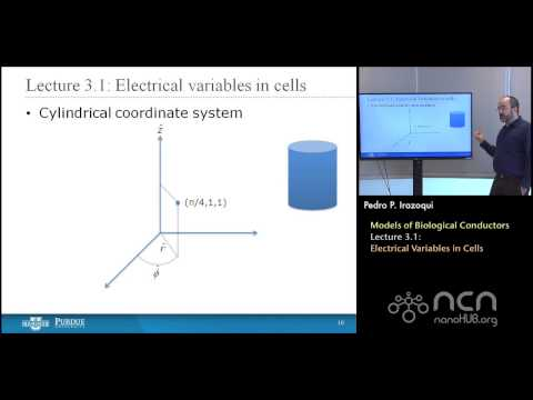 nanoHUB-U Bioelectricity L3.1: Biological Conductors - Electrical Variables in Cells