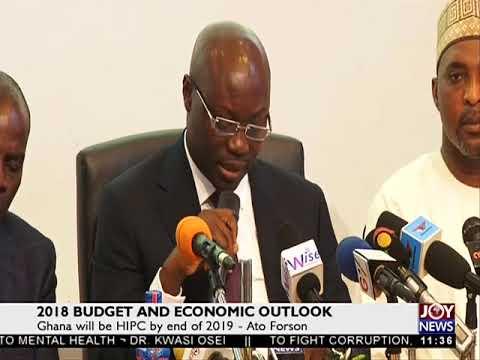 2018 Budget and Economic Outlook - News Desk on Joy News (13-11-17)