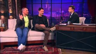 Вечерний Ургант -  Николай Фоменко и Максим Леонидов. 164 выпуск, 26.04.2013