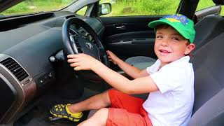 Children in the car-song Stories for Kids