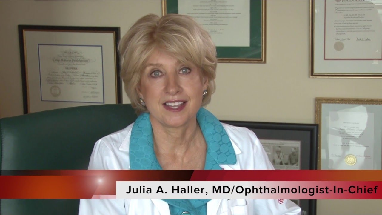 Julia Haller Wills Eye ARVO 2016 Preview with Julia A Haller MD YouTube