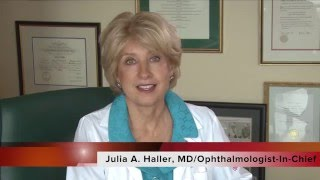 Wills Eye ARVO 2016 Preview with Julia A. Haller, MD