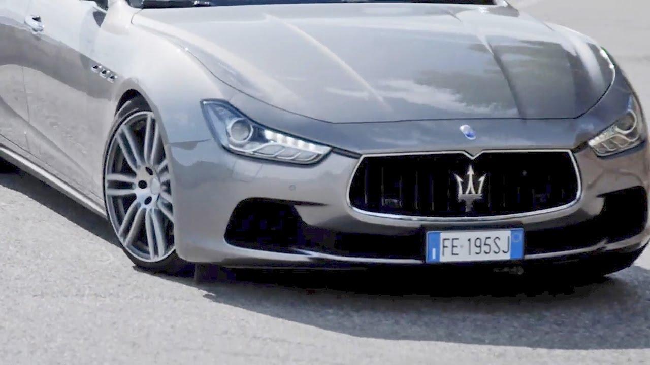 2017 Maserati Ghibli Official Trailer