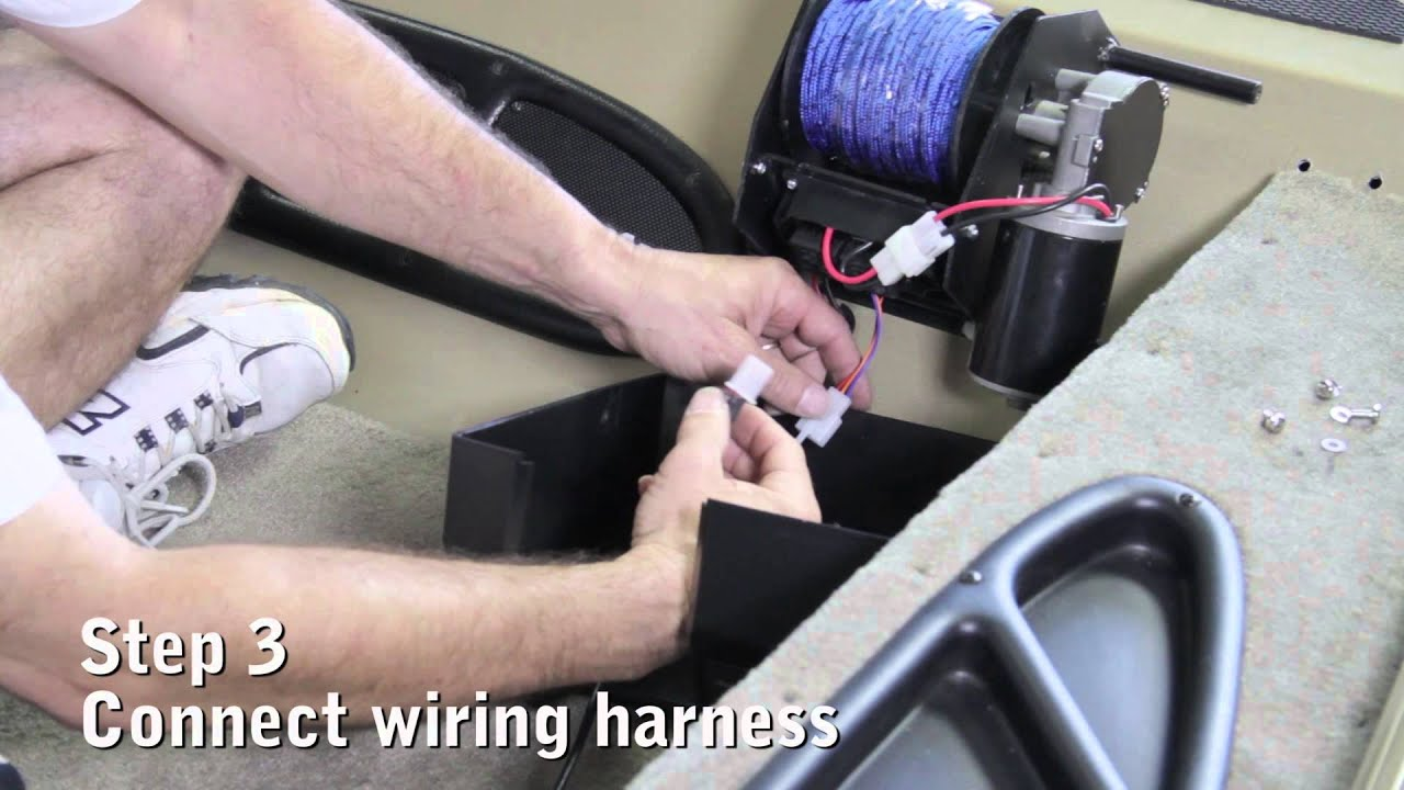 trac second switch installation youtube rh youtube com Trac Boat Winch Fisherman Trac Anchor Winch