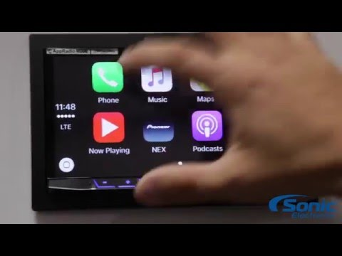 Apple CarPlay Demo | Pioneer AVH-4100NEX | Product Demo