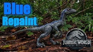 Kohl's Exclusive Velociraptor Blue Repaint