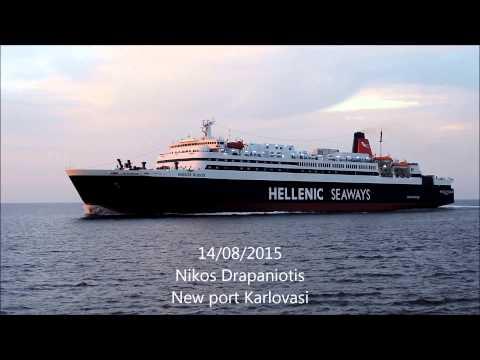 Περασμα NISSOS RODOS 14 Αυγουστου 2015 by: Νικος Δραπανιωτης