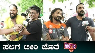 Chit Chat With SALAGA Movie Team Duniya Vijay Dhananjay