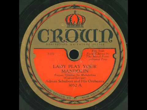 Hotel Pennsylvania Trio - Lady play your mandolin