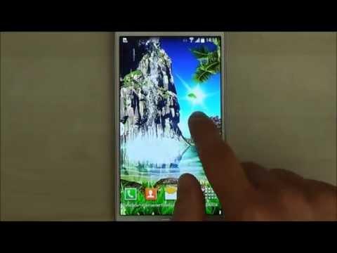 Тропический 3D Водопад Живые Обои для Android