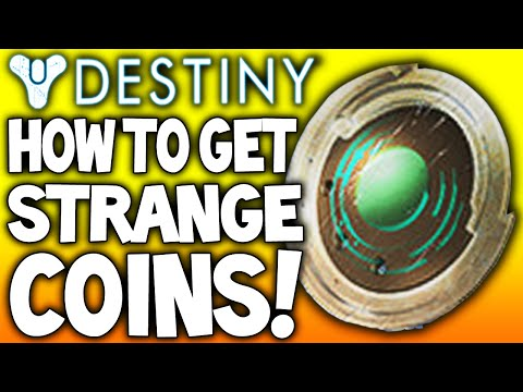 Destiny how to get strange coins farming looting easiest