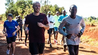 video: A run with Eliud Kipchoge: Avoiding cows and battling high altitude to train with the world's best