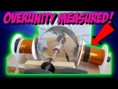 GLIMPSE of FREE ENERGY OVERUNITY MOTOR/GENERATOR COMBO DEVICE