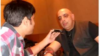 Fashion Designer Tarun Tahiliani with Rj Animesh live on Red Fm Kolkata