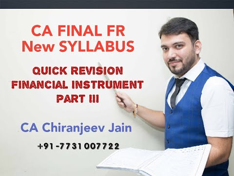 QUICK REVISION _Financial Instrument_Part III (Financial Liability)