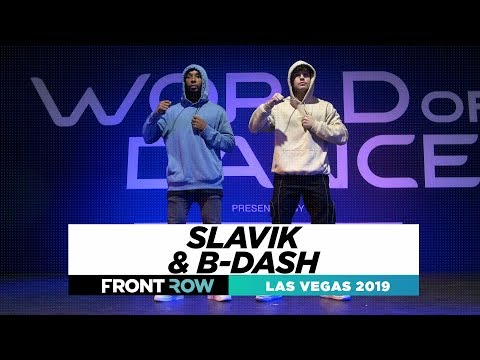 Slavik & B-dash | FRONTROW | World of Dance Las Vegas 2019 | #WODLV19