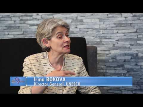 Anangwe Exclusive interview With UNESCO Director-General Irina Bokova