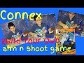 Connex aim and shoot buildable game from 5 below build and play your own game unboxing and review