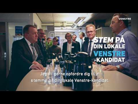 Lars Løkke Rasmussen - Kommunal- og regionsrådsvalg 2017