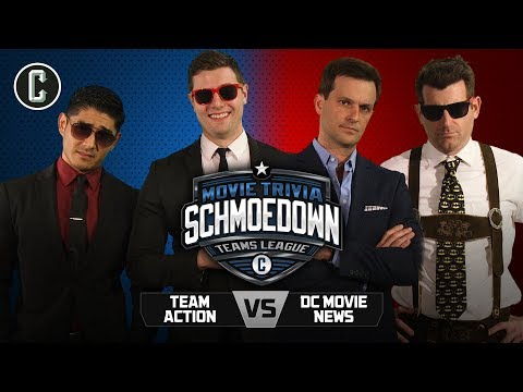 Team Action Vs. Dc News - Movie Trivia Schmoedown