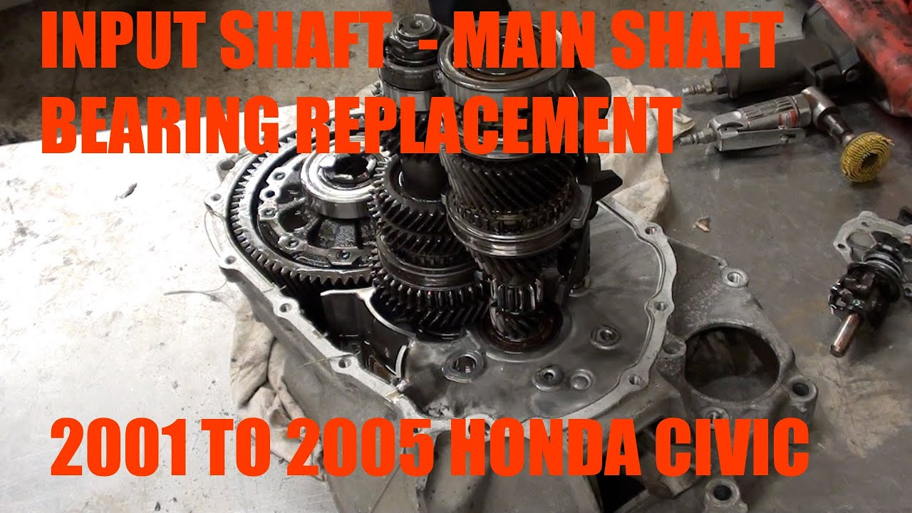 How To Replace Input Shaft Bearing Main Shaft Bearing